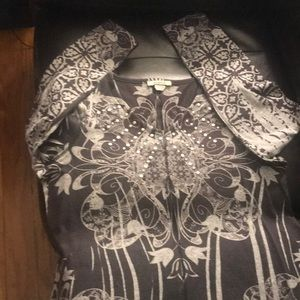 One world gray shirt